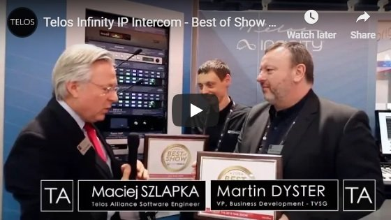 NAB 18 Best of Show Awards vid