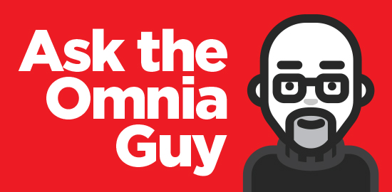 Newsletter_Ask the Omnia Guy