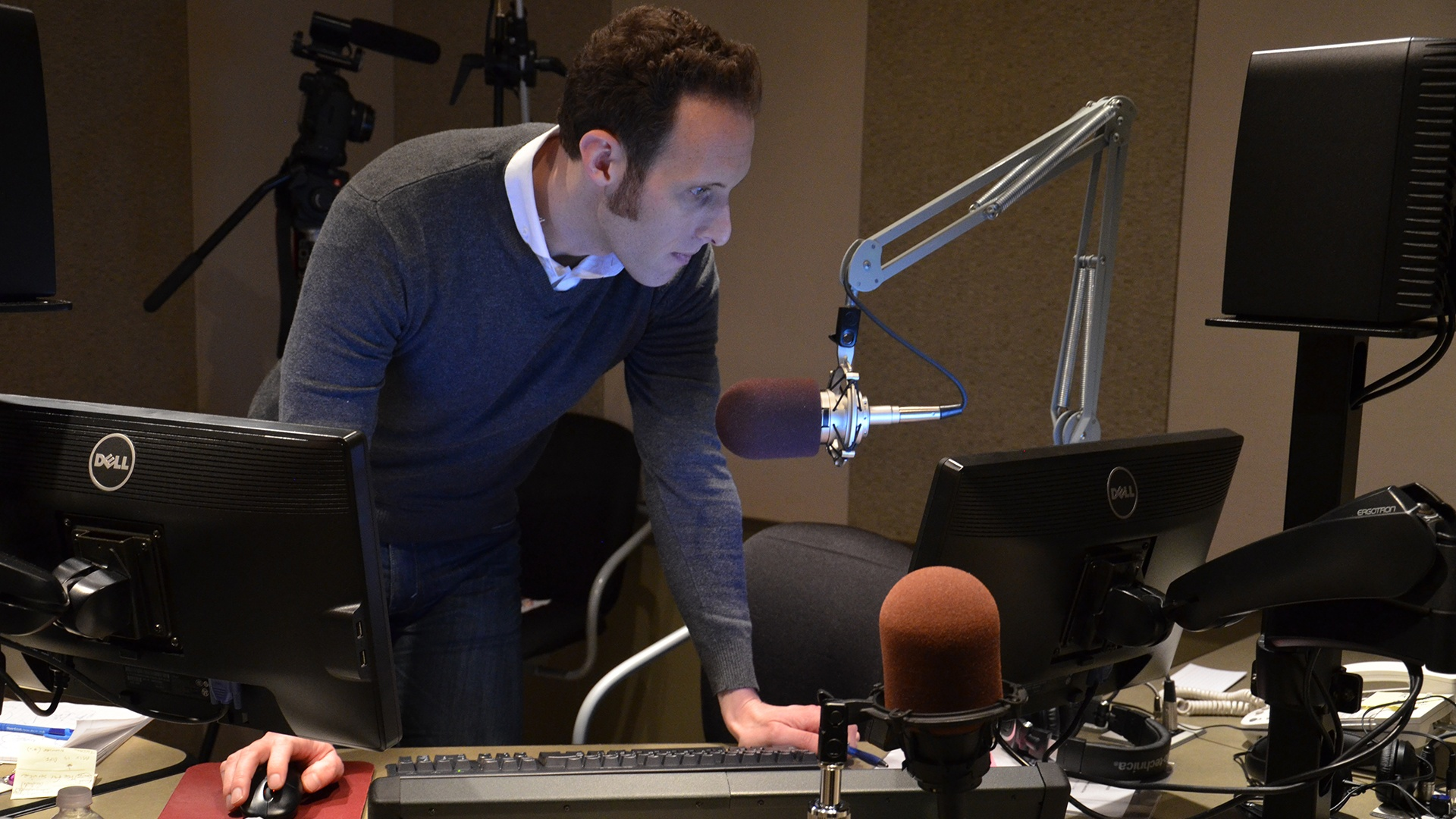 CPR host Ryan Warner can be sure his broadcasts run smoothly with the Axia Fusion and Telos VX