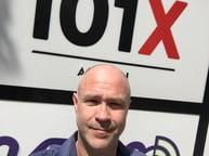 Paul Kriegler at KROX-FM, 101X Austin