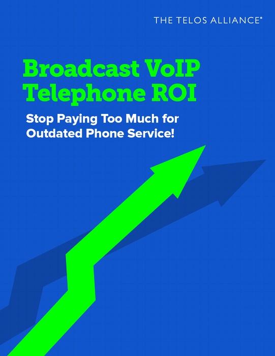 Broadcast VoIP Telephone ROI eBook