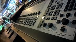 Axia Fusion AoIP console at Triple Audio