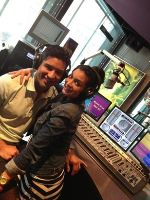 Mario Lopez guest DJs at Universal Studios Florida,  powered by Axia.