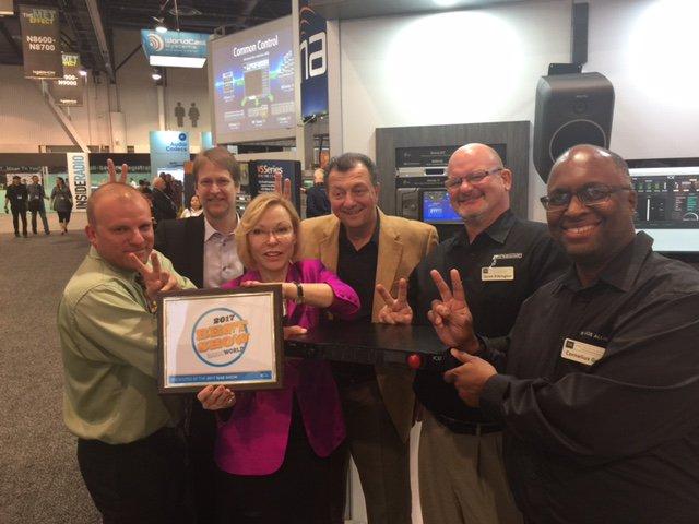 Omnia VOLT Radio World Best of Show Award
