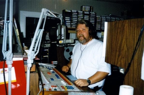 brian on air at WHTT