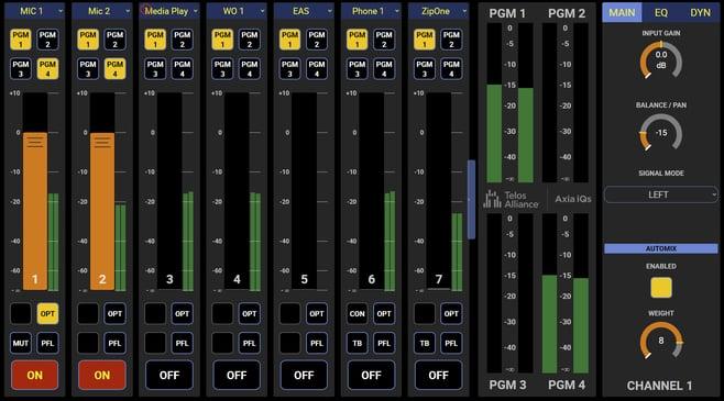 iQs screen