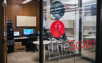 The Scope studio