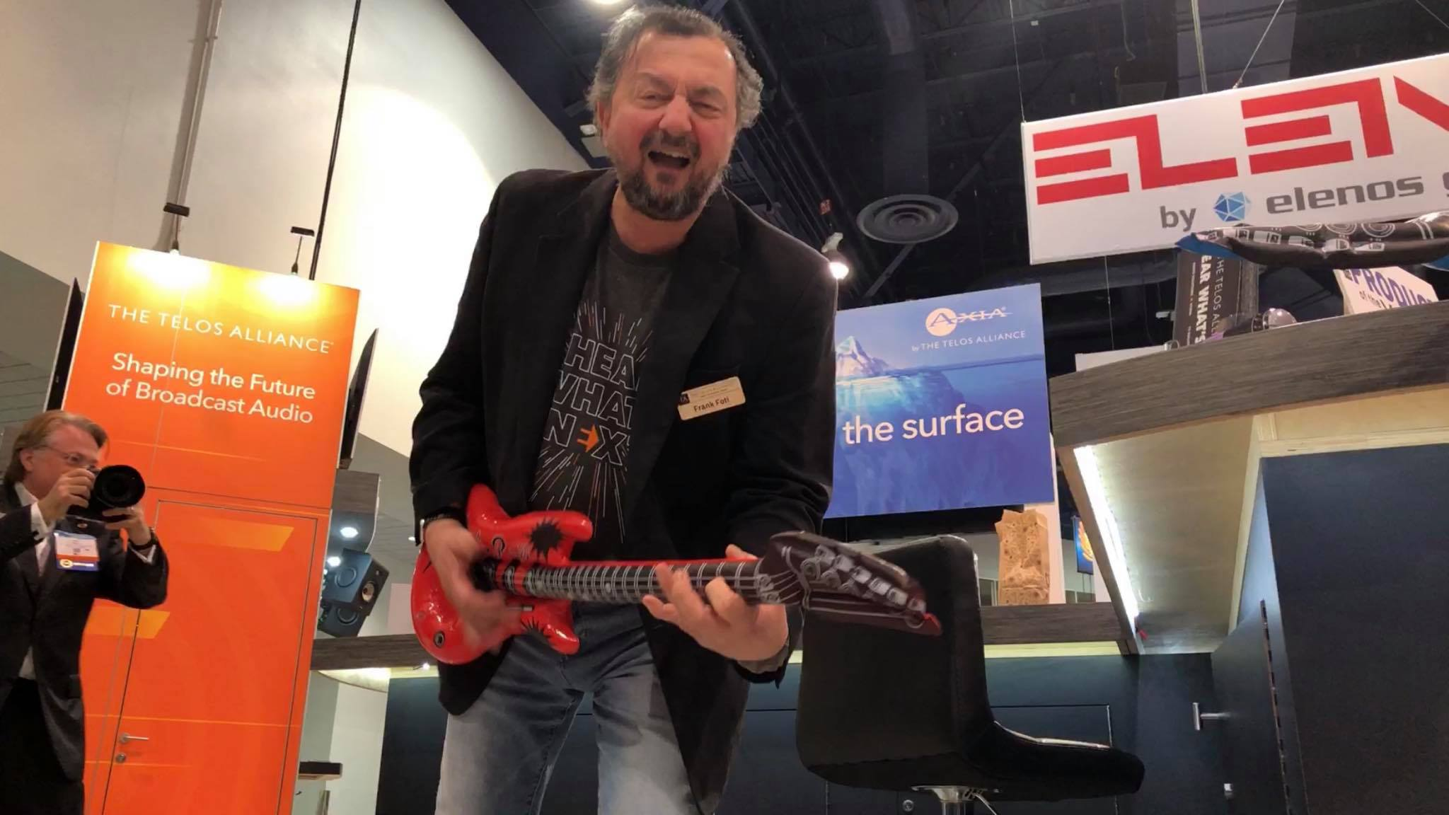 Telos Wins Awards for Hot New Products, Creates Rock Legends, and Ends NAB 2019 with Style!