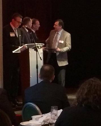 CEO Frank Foti accepts honor