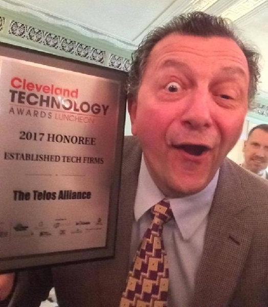 Frank celebrates Cleveland Technology Awards honoree recognition