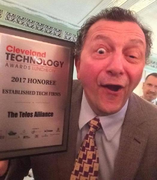 Frank celebrates Cleveland Technology Awards honoree recognition
