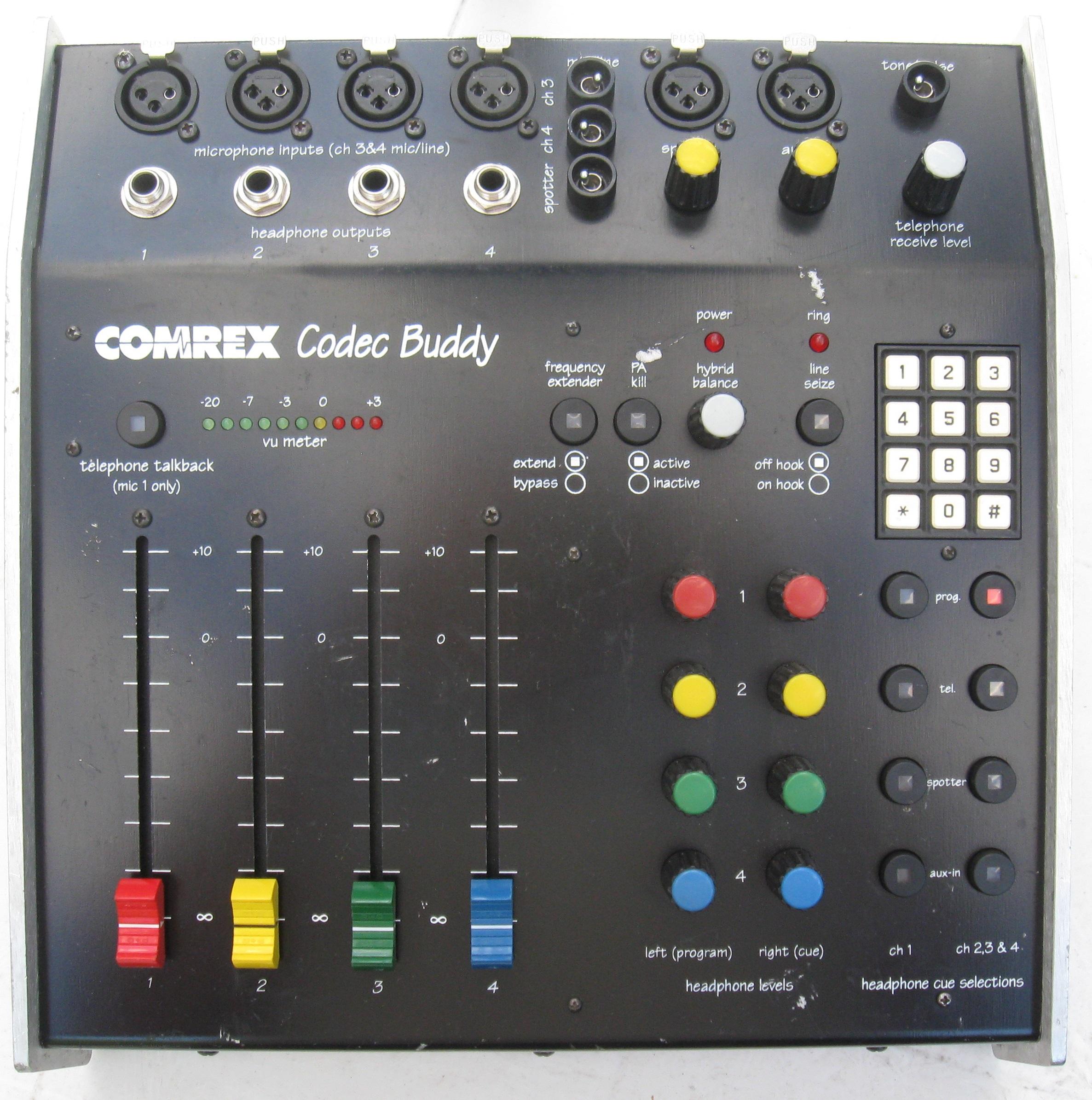 Found in the Attic: Comrex Buddy Remote Mixer