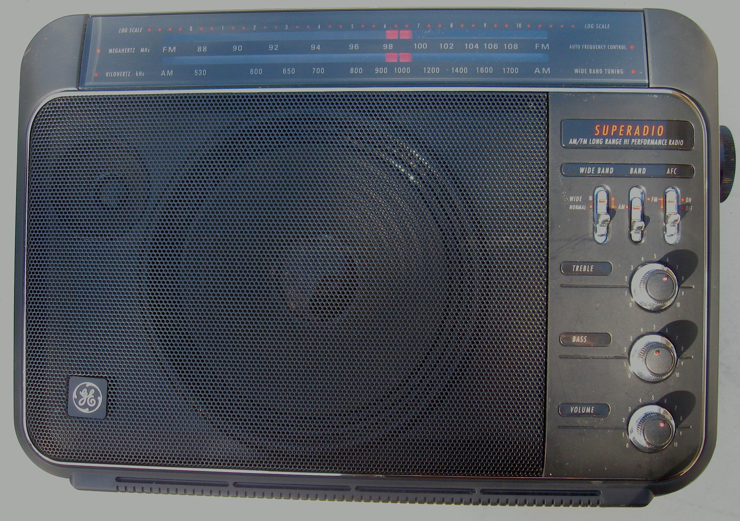 Found in the Attic: GE Superadio III