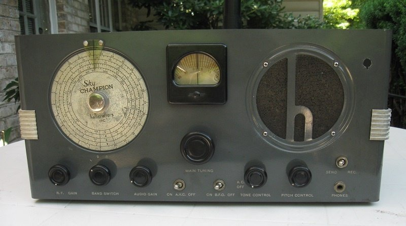 Found in the Attic: Hallicrafters S-20 'Sky Champion' receiver