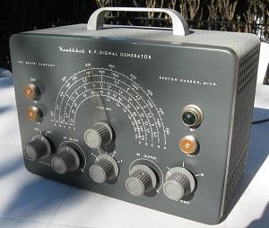 Found in the Attic: Heath SG-8 RF Signal Generator