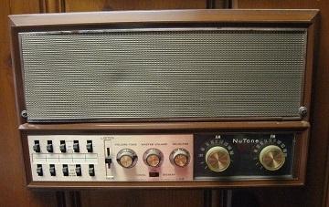 Found in the Attic: NuTone 2067B-2068B Transistor Radio-Intercom System