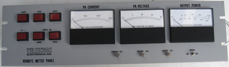 Found in the Attic: Wilkinson Transmitter Extension Meter