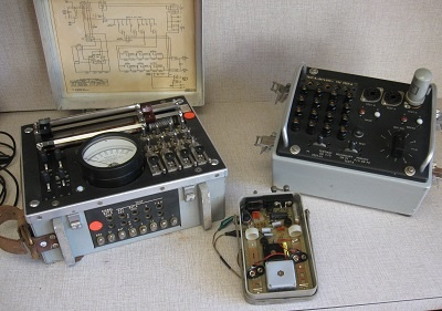 Found in the Attic: Western Electric gear, or... Dumpster Diving at Ma Bell