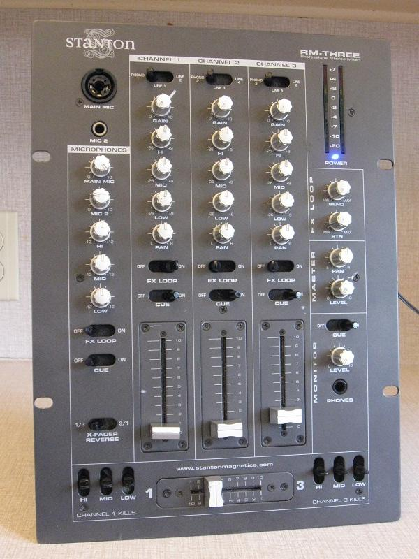 Found in the Attic: Stanton RM-THREE Disco Mixer