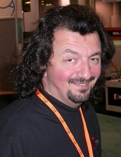 Frank at NAB 2004
