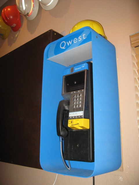Qwest pay phone