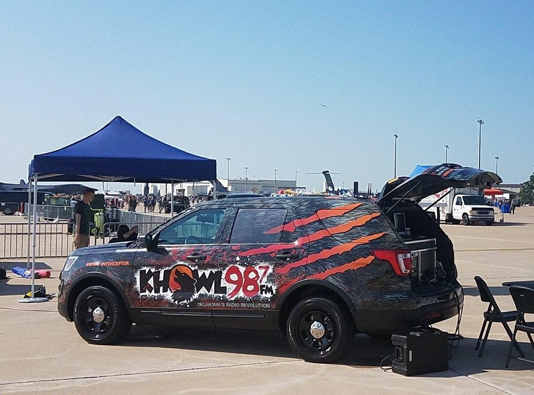 Interceptor at the Air Show