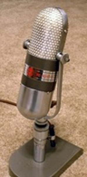 Iconic microphone designed by Vassos