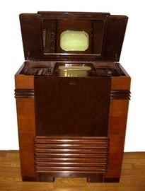 RCA TRK-12 TV Set from 1939