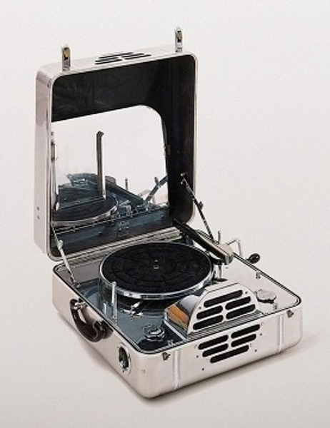 1937 RCA Victor Model N 78 RPM Portable Record Player