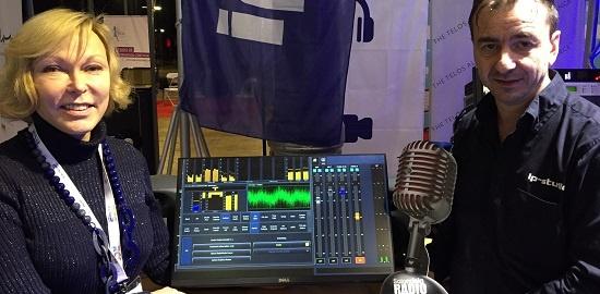 Axia IP-Tablet Wins Best of Show Award at European Radio Show / Salon de la Radio 2018!