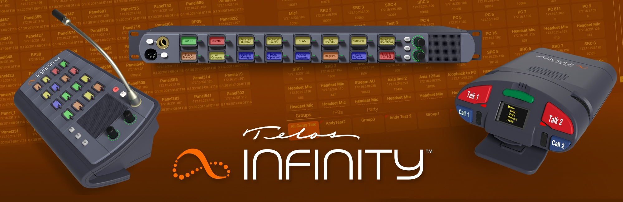 Introducing Telos Infinity IP Intercom!