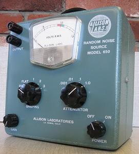 Allison Research Model 650 Noise Generator