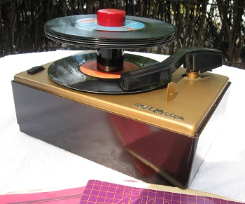 Found in the Attic: RCA Victor 45-J-2 Turntable