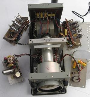 Disassembled Oscilloscope