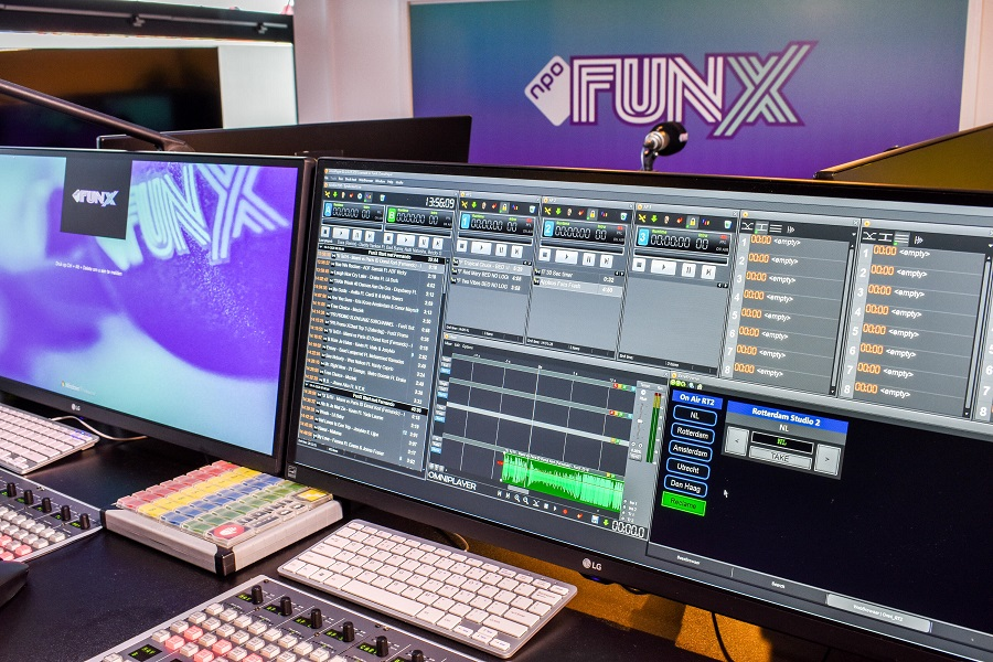FunX Undergoes Major Update with Telos Alliance Axia AoIP Network
