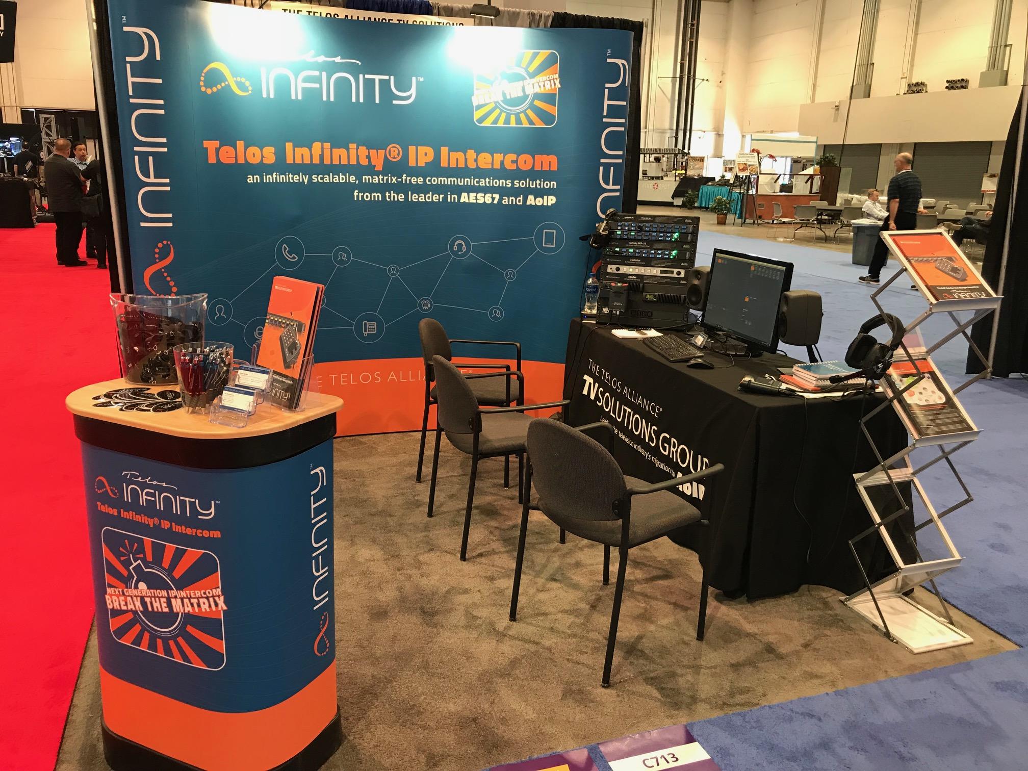 Live at InfoComm 2018! Telos Infinity IP Intercom Breaks Into New Markets