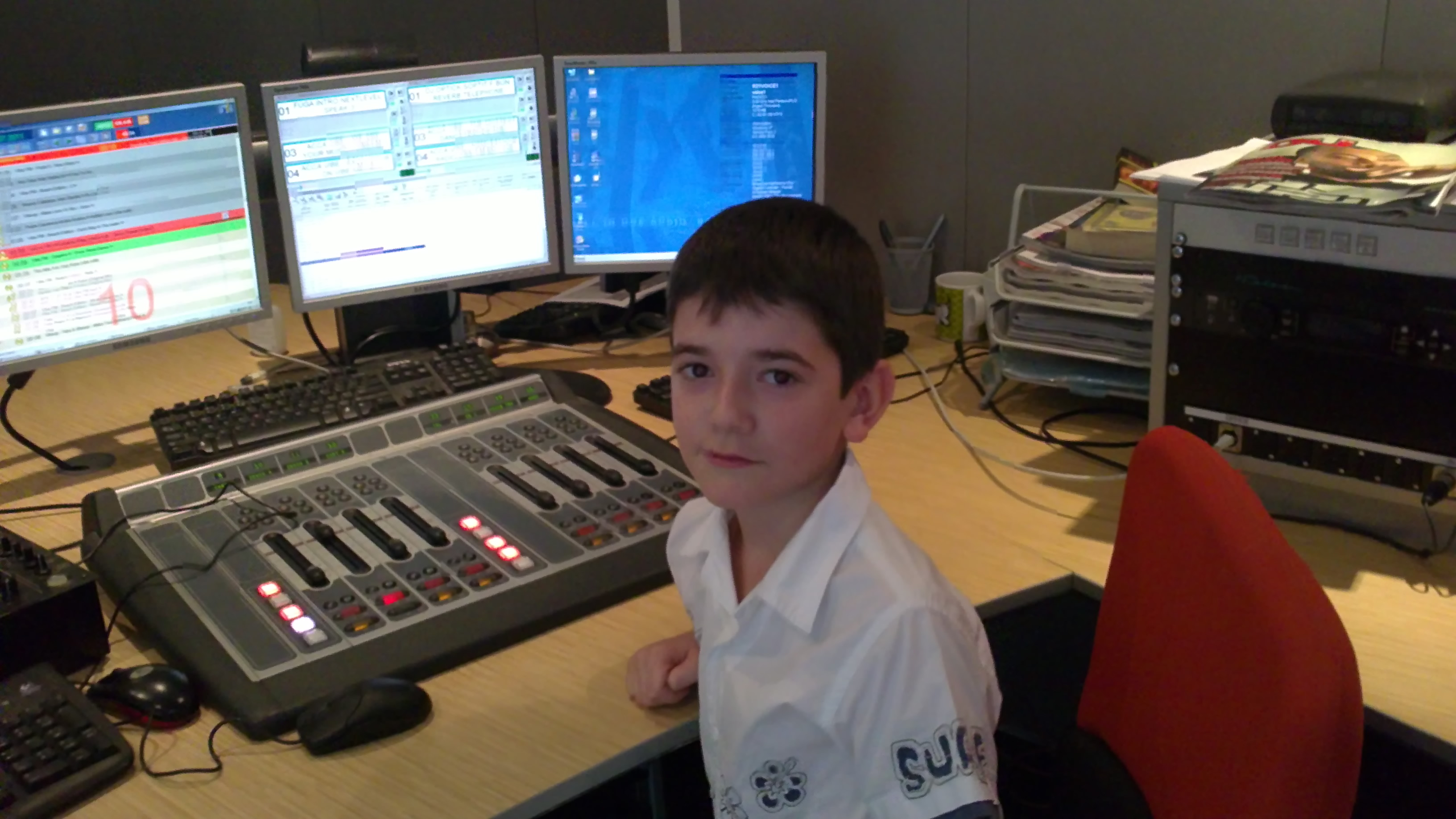 11-Year-Old Telos Alliance Fan Builds Dream Studio Eight Years Later