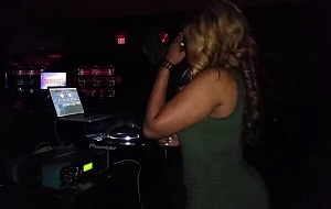 Supa Cindy works broadcasts live with a Telos Zephyr