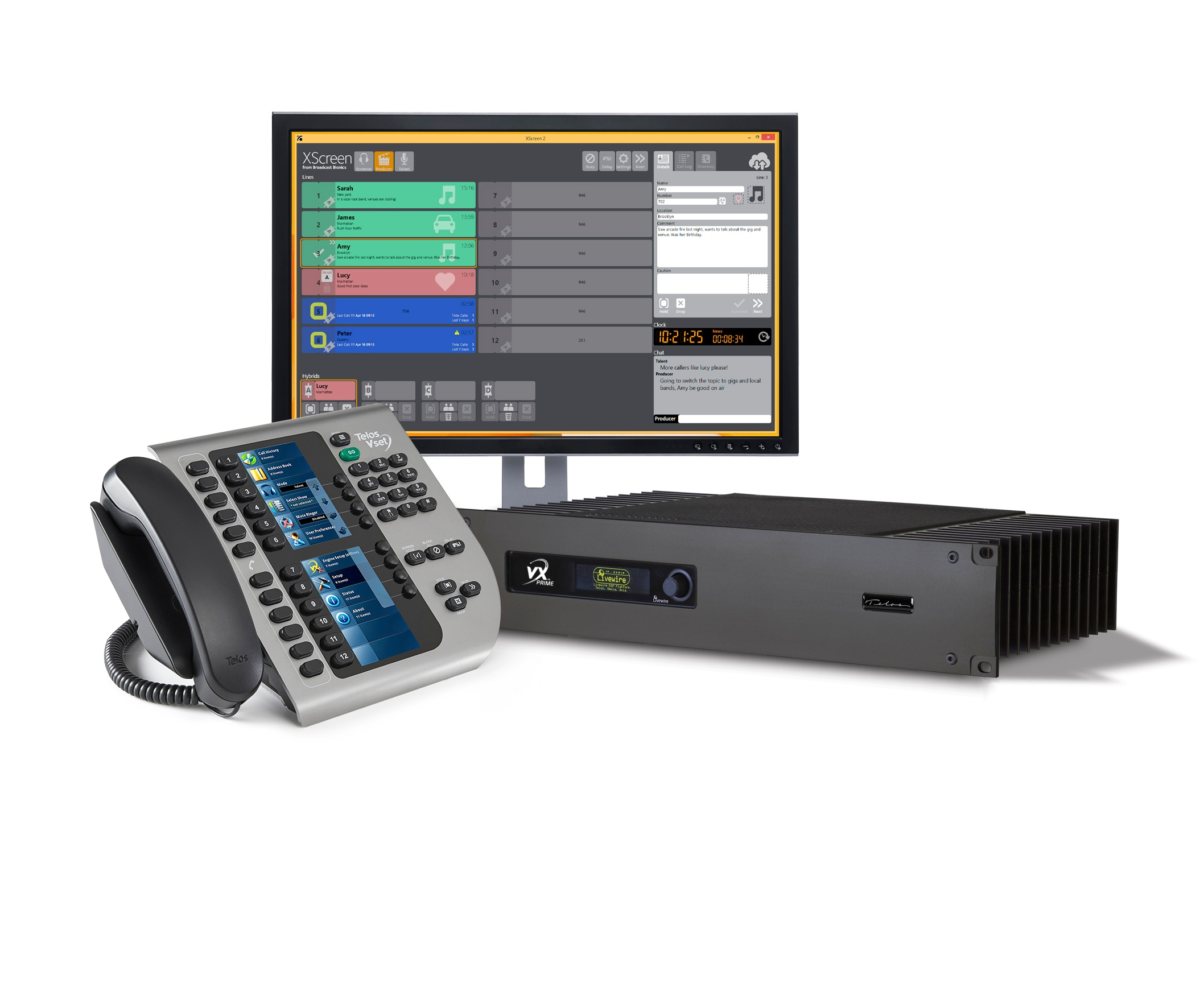 BIG Performance for Small Facilities: VX Prime Broadcast VoIP System Launches!